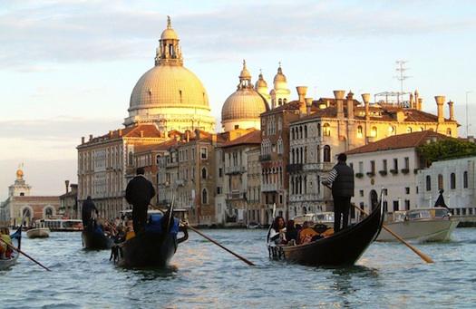 honeymoon in Venice Italy