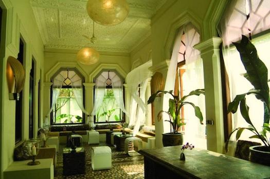 lobby of Casa Colombo