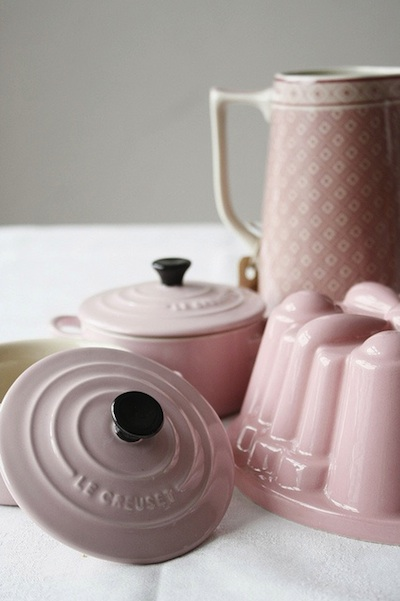 pink Le Creuset for wedding gift registry