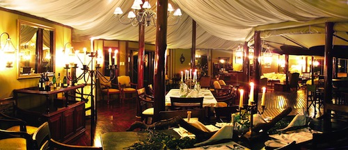 signature restaurant at Hamiltons in Kruger National Park