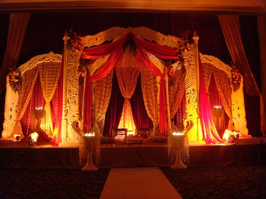 wedding mandap in India