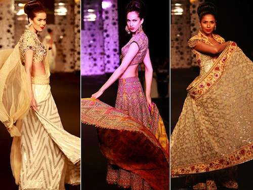 Abu Jani Sandeep Khosla at Fashion week