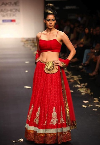 Anita Dongre at collection at Lakme Fashion Week 2011