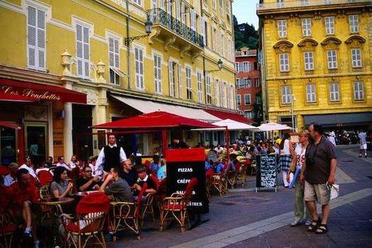 Cafe's in France