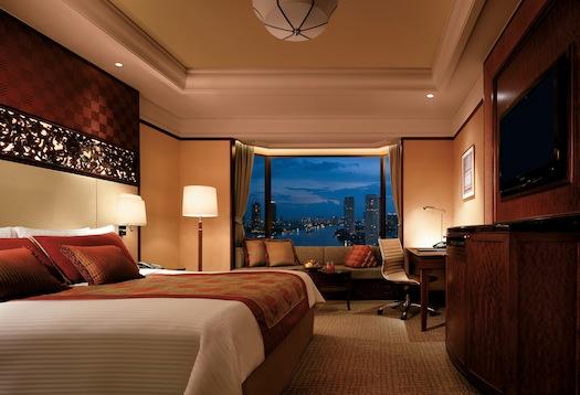 our room at Shangri La Bangkok