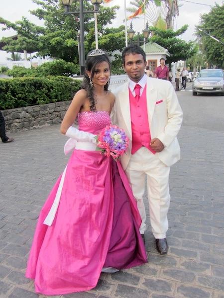 Sri Lankan bridal Fashion