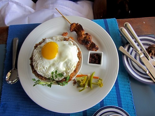 Nasi Goreng at Jetwing Blue, Negombo
