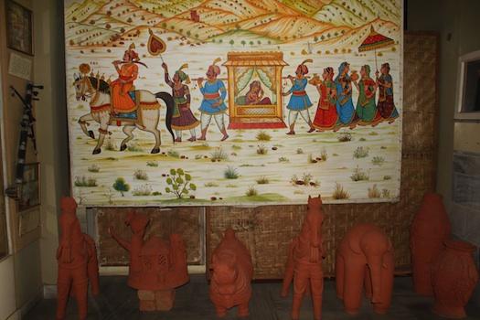 Indian art at weddings