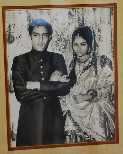 Nawab Mansoor Ali Khan Pataudi wedding