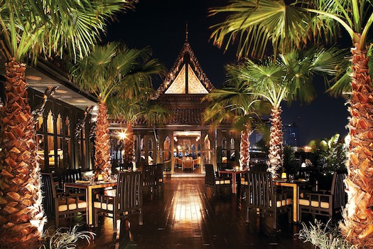 Salathip restaurant inside Shangri La Bangkok