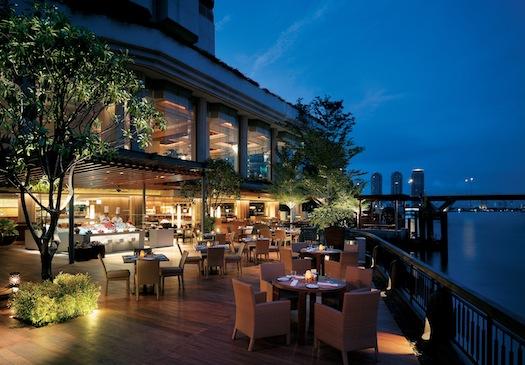 Next Cafe inside Shangri La Bangkok