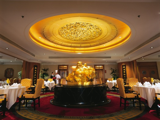 Shang Palace Chinese restaurant at Shangri La Bangkok