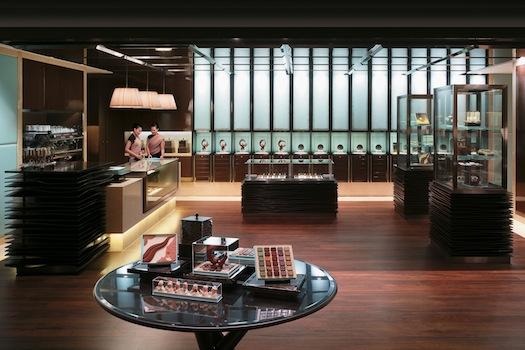 chocolate boutique at Shangri La Bangkok