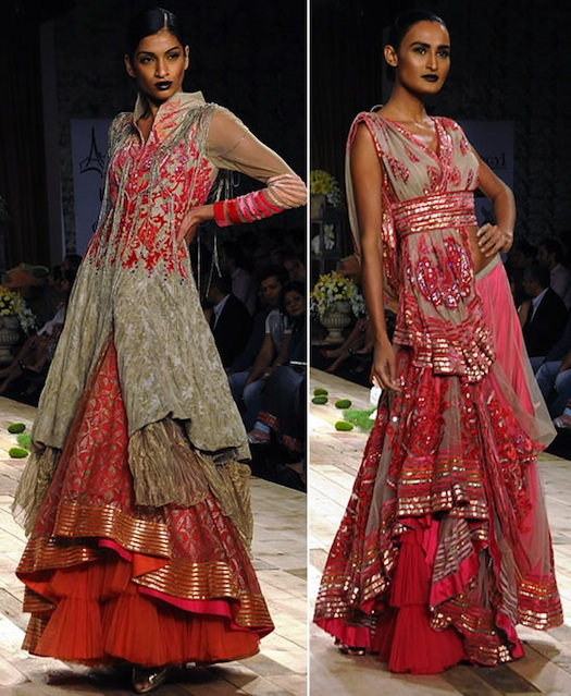 Shantanu Nikhil At Lakme Fashion Week