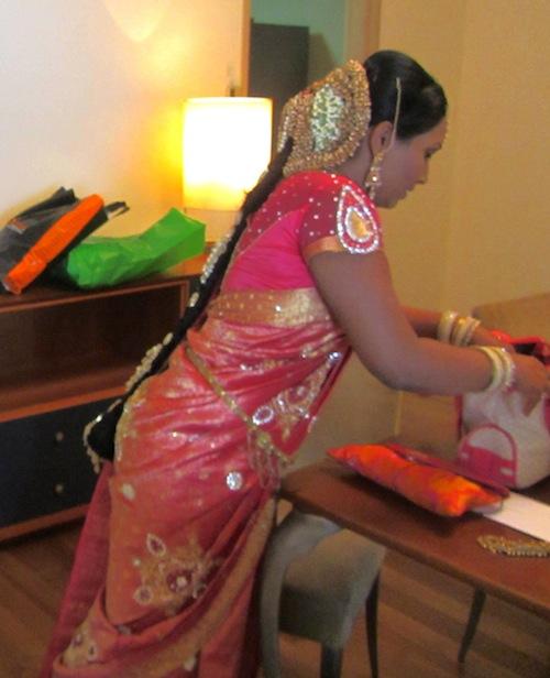 Sri Lankan Tamil bride