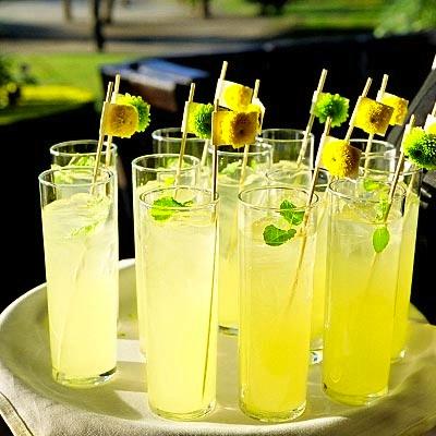 beverages at Indian wedding