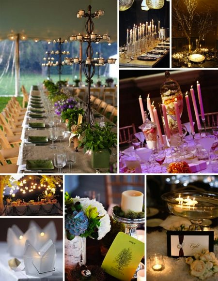 lighting for your wedding reception