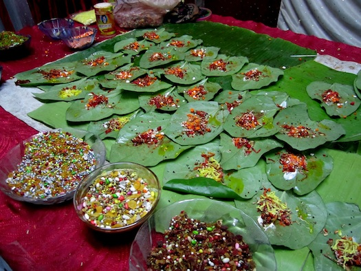 paan at Indian weddings