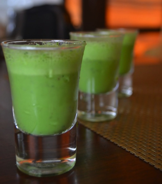 paan flavoured shots