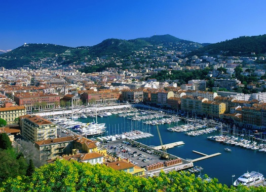 port in France, Europe