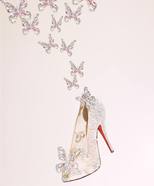 Christian Louboutin's  Cinderella shoes
