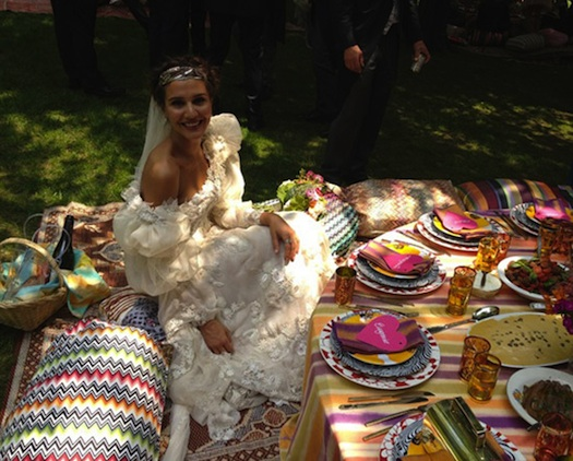 Margherita Missoni's Gypsy wedding