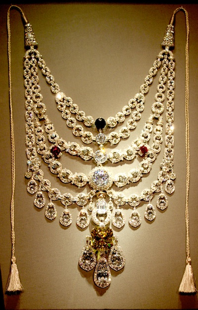 Patiala necklace by Cartier for Indian brides