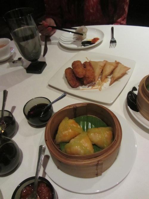 Dim Sim lunch at China House in Manadarin Oriental