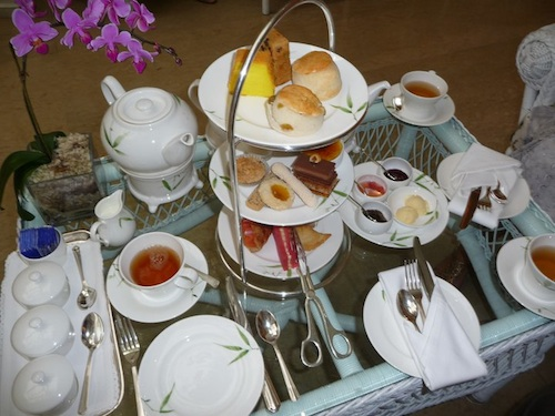 High Tea at Authors Lounge - Mandarin Oriental