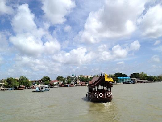 ferry service at Mandarin Oriental Bangkok