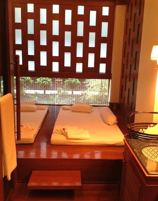 Spa Therapy room at Mandarin Oriental Spa
