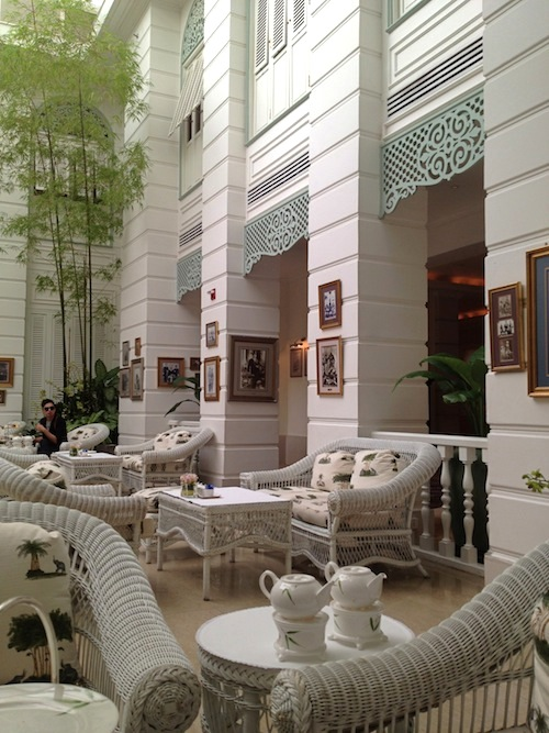 Authors lounge High Tea at Mandarin Oriental, Bangkok