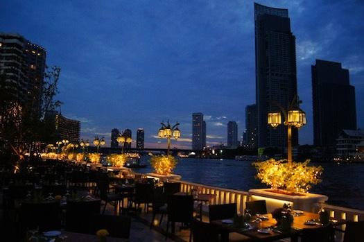 view from Mandarin Oriental, Bangkok