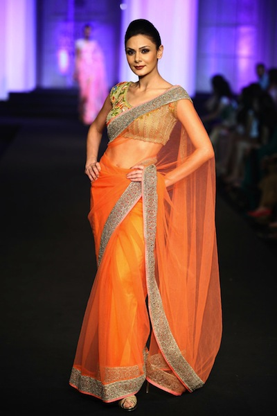 Bridal wear by Pallavi Jaikishan 2012