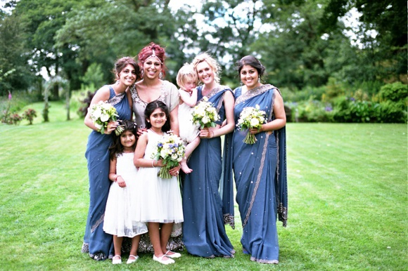 Indian wedding blue