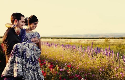 Indian wedding couple photoshoot