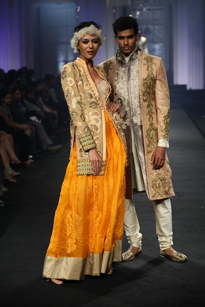 Narendra Kumar men & women's wear at bridal week 2012