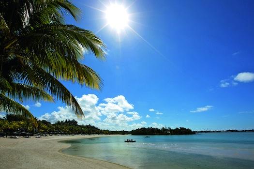 Beach at Le Touessrok, Mauritius