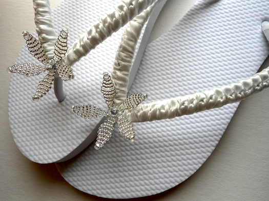 beach wedding footwear for women