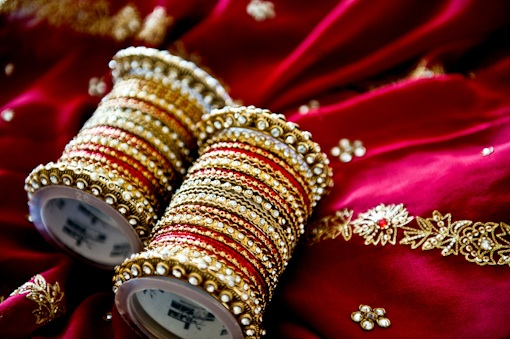 bridal bangles for Indian bride