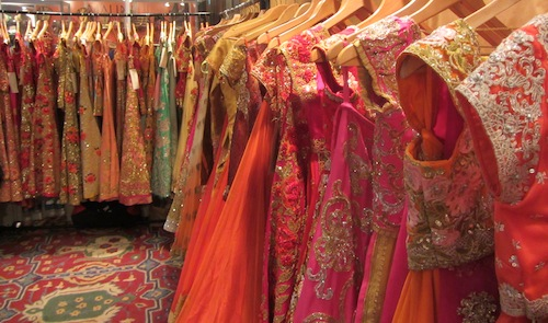 Indian bridal shopping