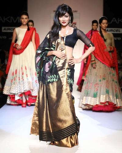 Gaurang at Lakme Fashion week 2013