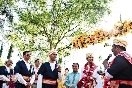 Indian wedding ceremony in coorg