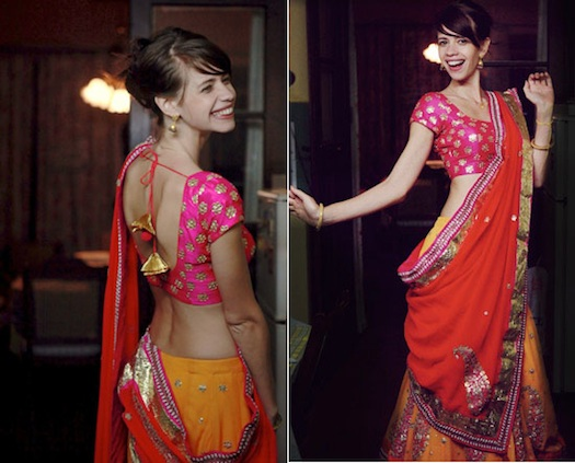 Kalki Koechlin wedding look