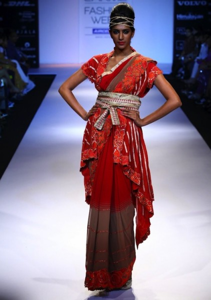 Krishna mehta's show at fashion week