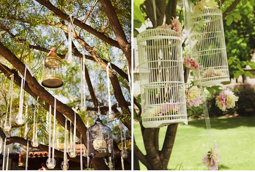 bird cages used by marry me weddings