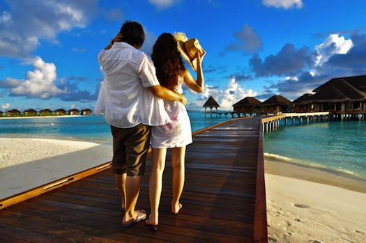 honeymoon in Tahiti