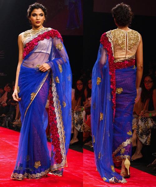 lakme fashion week Bhairavi Jaikishen bridal wear