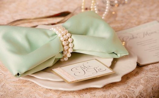 pearls used for indian wedding reception