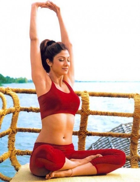 shilpa shetty yoga for wedding